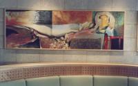 Sikko mulder kunstschilder en docent tekenen schilderen opdracht crematorium kranenburg zwolle - Schilderen gemengde kamer ...